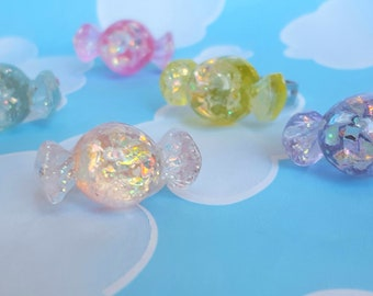 Glitter Candy Ring