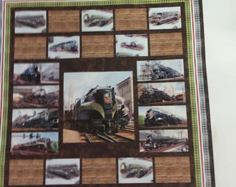 All Aboard quilt kit