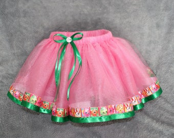 CLEARANCE SIZE 4 READY to Ship Shopkins Inspired Pink Tutu