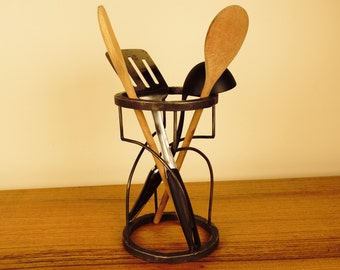 Handforged Cooking Utensil Holder