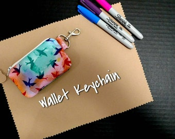Wallet Keychain Sparrows