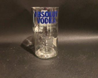 Absolut Candle 750ML Absolut Absolute Vodka Bottle Soy Candle. Made to Order