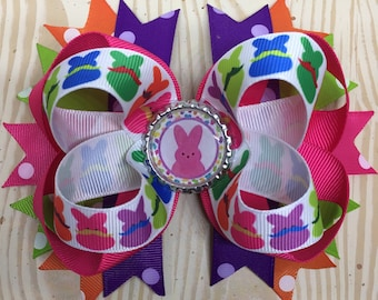 Easter Hair Bows with Free Shipping!