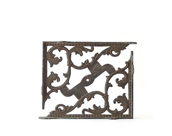 Antique Architectural Salvage Grate Heating Iron Floor Grates Ceiling Register Cast Iron Ornate Victorian Home Improvement FREE SHIPPING