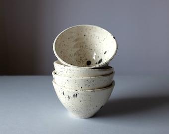 Ceramic Bowl, Handmade Pottery Bowl, Modern Ceramics, Ice Cream Bowl, Speckle Bowl, Speckle Ceramics, Modern Pottery, Housewarming Gift