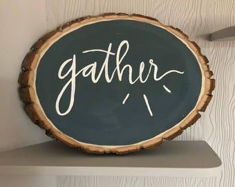 Gather Wood Piece
