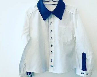 """Custom made-your own unique model """"Moritz"""" with cuff and chest pocket"""