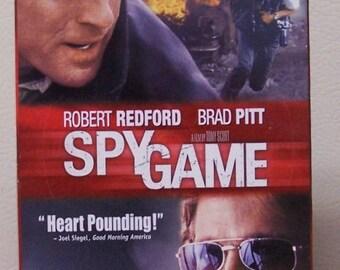 Spy Game VHS Robert Redford/ Brad Pitt