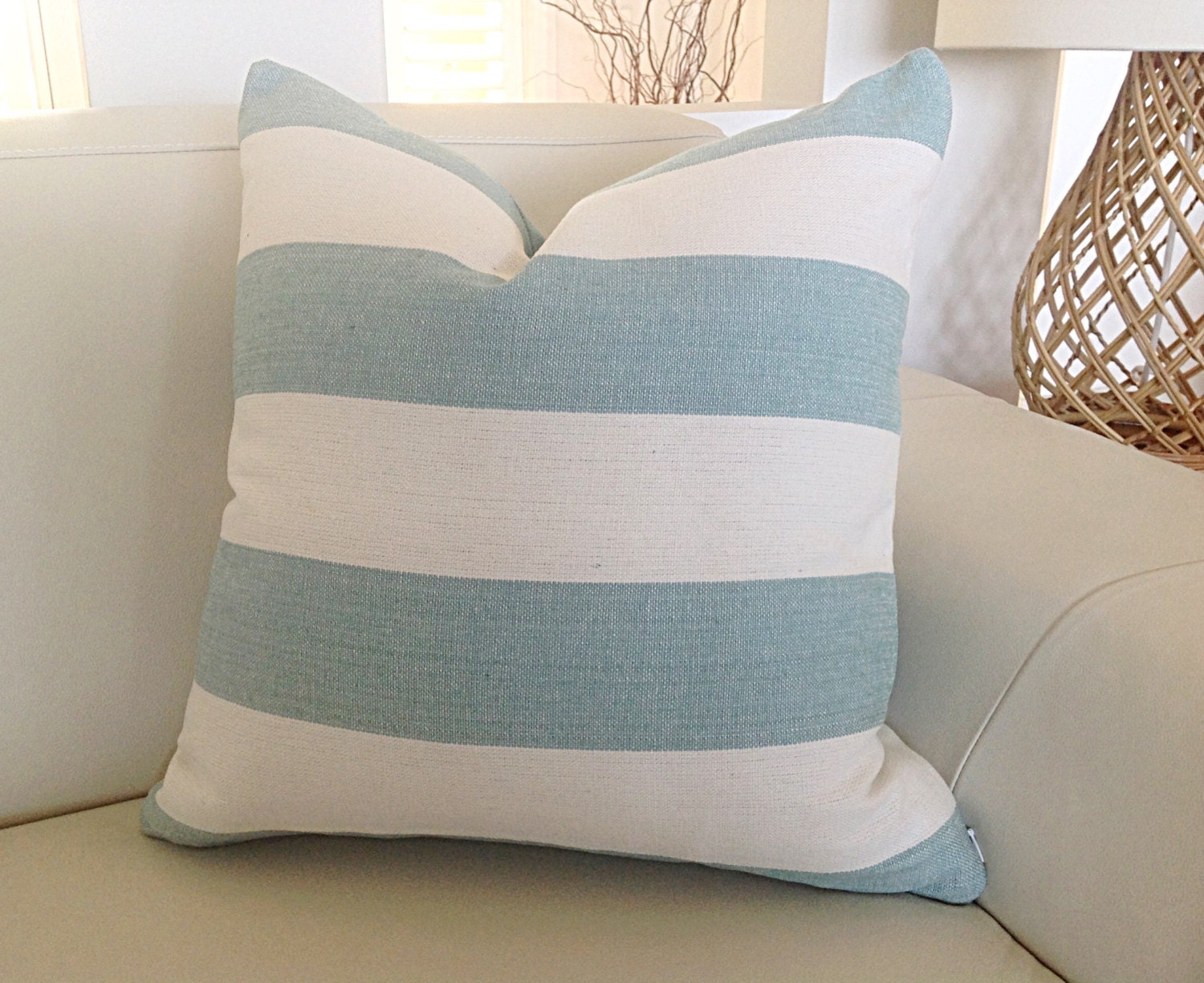 mint pillow bikini collections pillows com caia beach stripe