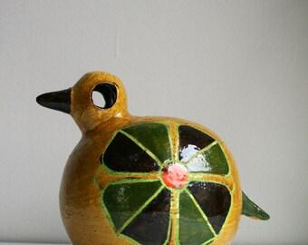 Aldo Londi Bitossi Ceramic Bird Rosenthal Netter Italy Raymor Italian Pottery