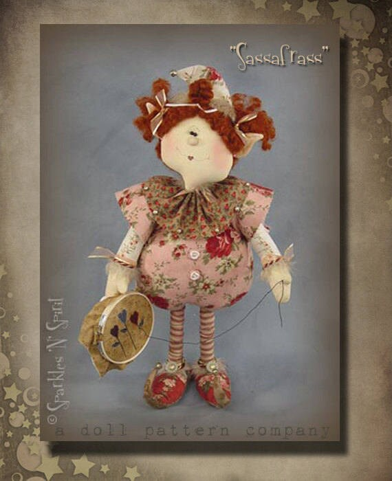 "Doll Kit: Sassafrass - 18"" Sewing Elf"