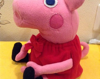 Peppa pig handmade toy, personalized gift
