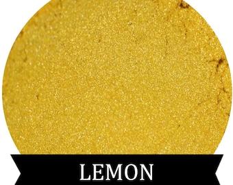 LEMON Yellow Eyeshadow