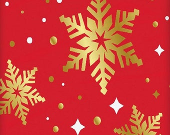 Happy holidays  snowflake plastic tablecloth. UI58013