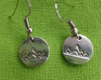 Mountains Earrings / Nature / Hiking / The Mountains are Calling....