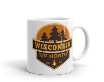 Wisconsin Up North Mug