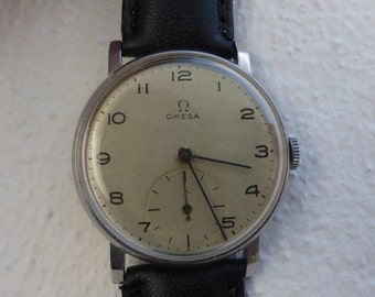 Omega 30T2. 1940-1941. In very good original condition.