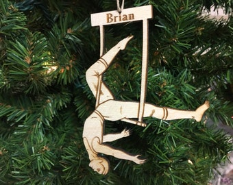 Trapeze #1 Personalized Christmas Ornament