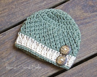 Crochet Pattern, Crochet Baby Hat Pattern, Crochet Hat Pattern for Baby Boy, Baby Boy Hat Patterns, Baby Hat Pattern