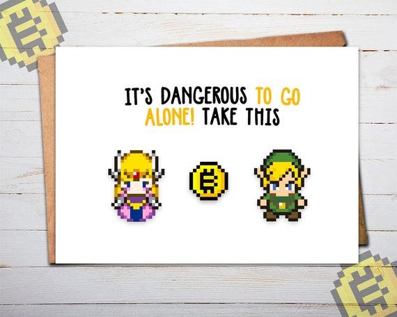 Bitcoin Card Zelda Zelda Card Legend Of Zelda Birthday