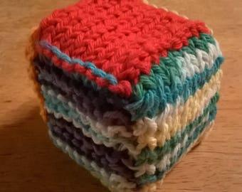 Handmade Knitted Baby Block
