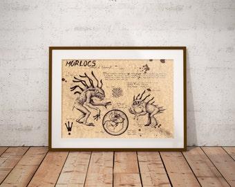 Medium - Murloc - World of Warcraft Art Print