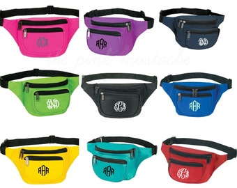 Monogrammed Fanny Pack / Personalized Fanny Pack