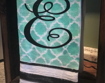 Hand Painted Towel