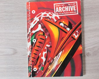 1997 Archive Magazine Volume 5 - Lürzer's International Ad's, TV Posters, and World-Wide - Creative Agency Advertisements Photography Zine