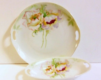Vintage Plate and Bowl Set