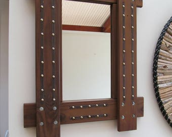 Handmade Reclaimed  Mirror