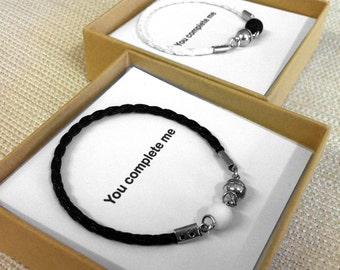 Couples Jewelry, His And Her Bracelet, His and Hers Gifts, Love Couple Bracelet, Couple Gifts, Matching Bracelets, Love Bracelets,Friendship