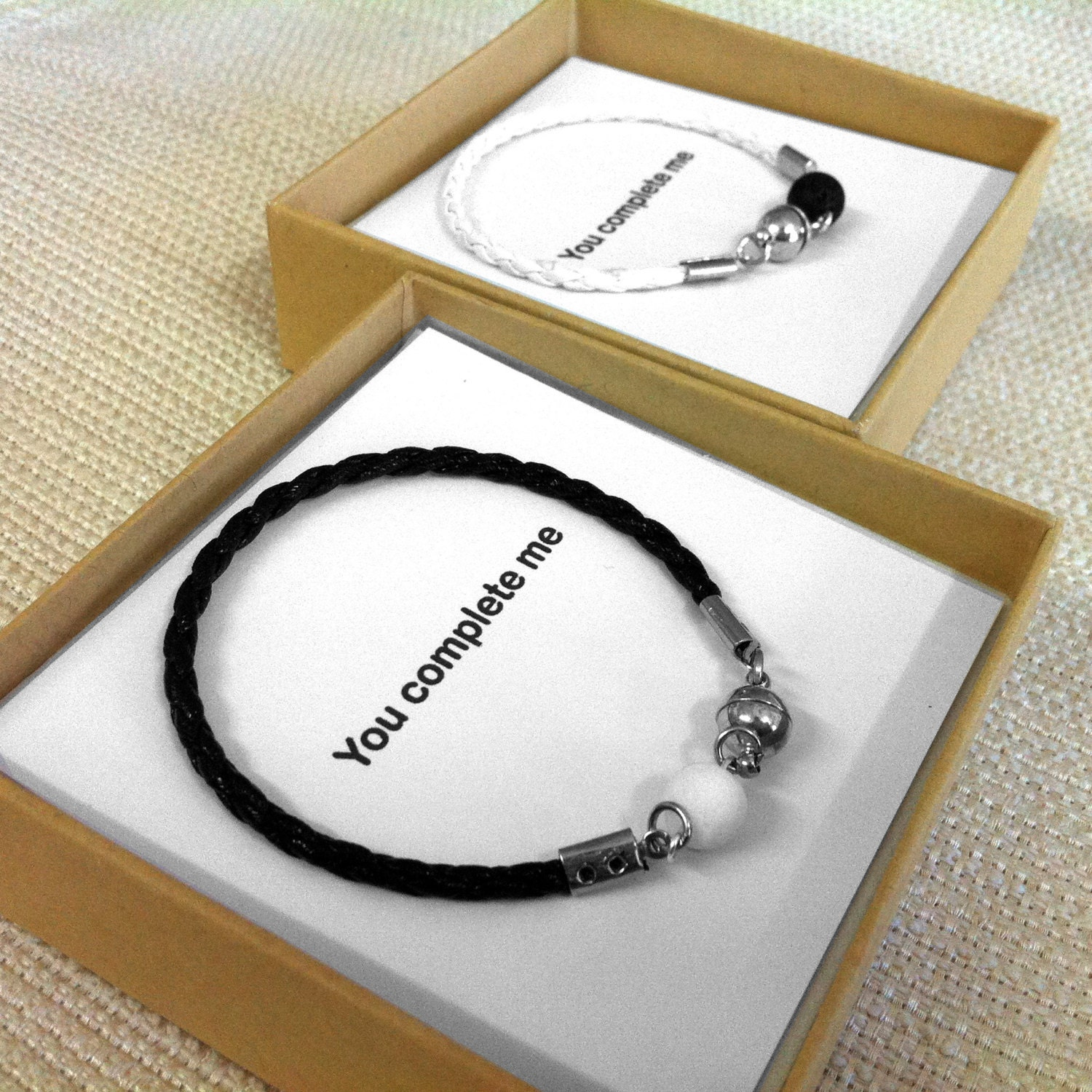 Gifts For Newly Wed Couple: Valentine's Gift Couples Jewelry His And Her Bracelet