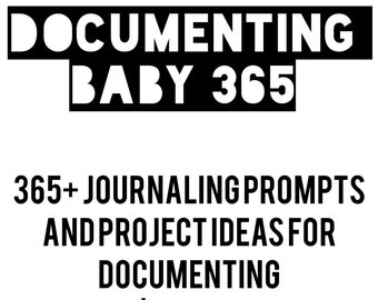 365+ Writing Prompts for Pregnancy and Baby's First Year