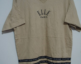 Vintage ELLE Paris T-shirts size. L