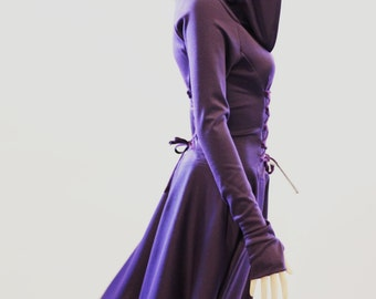 Elegant Dress by MiriMiriFashion, Fitted Knee-Length Dress