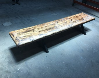 Western Hemlock Floating Bench