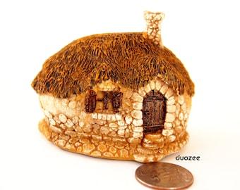 Miniature Enchanted Fairy Garden Fairy House One Room, Fairy Garden House, Gnome Home, Miniature Fairy, Fairy Houses