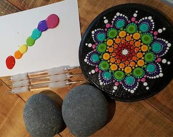 DIY Pierre Mandala Chakra Stone Kit