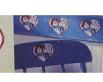 Raggedy Ann and Andy Wallies Wallpaper 25 Cutouts