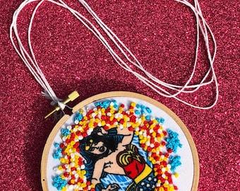 universal wonder woman hoop