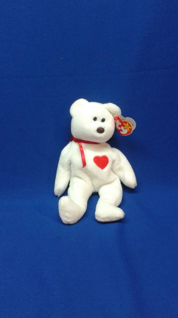 9d57d78f221 VALENTINO the BEAR Ty Original Beanie Baby Babies tag