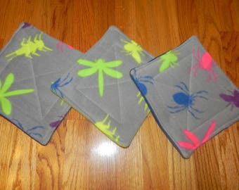 Pet Mats -Set of 3 - 9 inch squares - Pee Pads to keep your pets clean and smelling fresh!