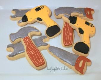 12 Tool cookies, handmade & iced