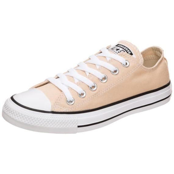 Peach Converse Apricot Ginger Low Top Custom Bride Sneakers Wedding Mens Ladies w/ Swarovski Crystal Rhinestone Jewels Bridal Kicks Shoes