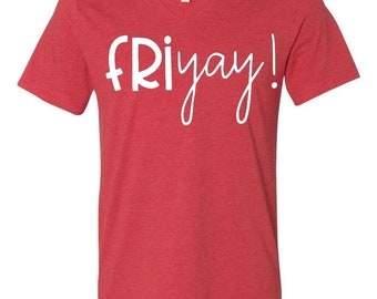 Friyay!- Heather Red