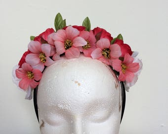 Rose Bud Flower Crown