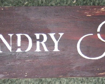 Laundry Room......plaque/wall hanging/board/laundry room/ house decor/shabby chic