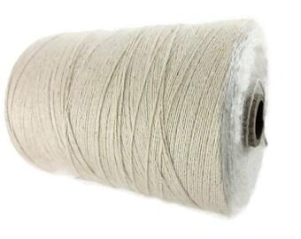 Natural Hemp & Organic Cotton Cord 0.7mm - 10 meters / 32.8 ft
