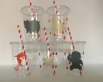 Lion guard party cups, Lion Guard Birthday Party, Lion Guard Party Favors, Lion Guard Birthday Party Cups